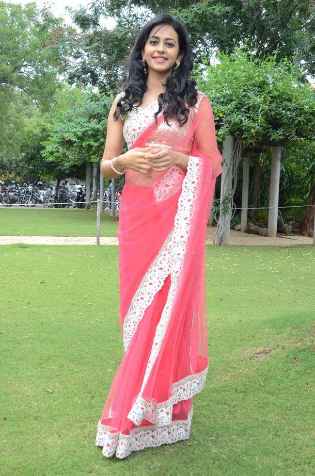 Rakul Preet Singh in Saree