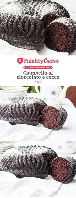 Ciambella al cioccolato e cocco