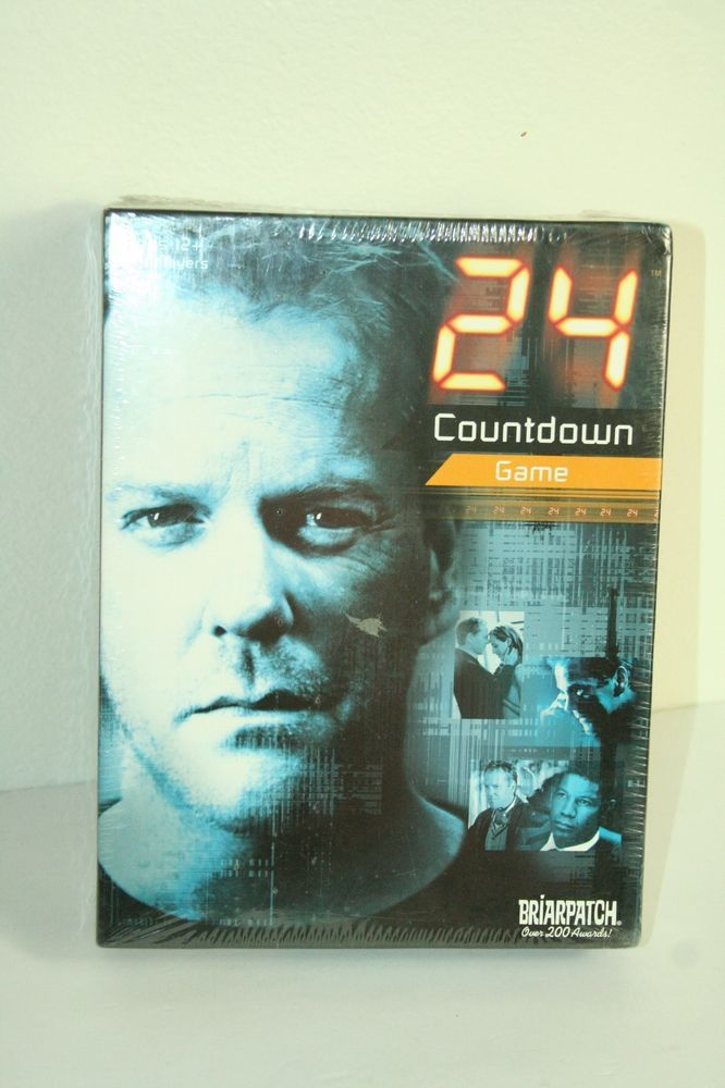 24 Countdown Board Game #Briarpatch