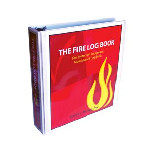 "THE FIRE LOG BOOK W/3.5"" (OUTSIDE SPINE WIDTH) BINDER"