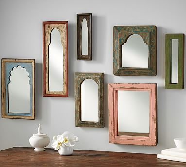 Isabella Mirrors #potterybarn    From the Pottery Barn Small Spaces Collection, #mypotterybarn .