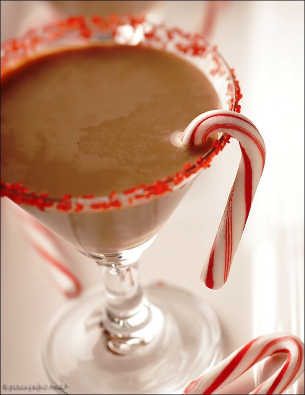 Holiday Chocolate Peppermint Martini