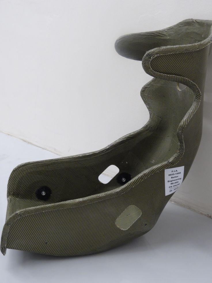 Carbon fiber seat for Lamborghini.  www.brebeckcomposite.com