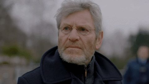 via GIPHY Tchéky Karyo as Julien Baptiste in The Missing