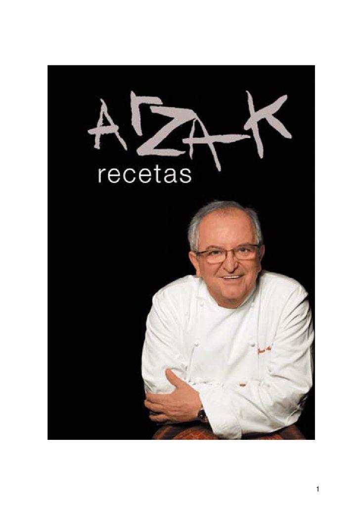 Reetas Arzak  Cocina de autor
