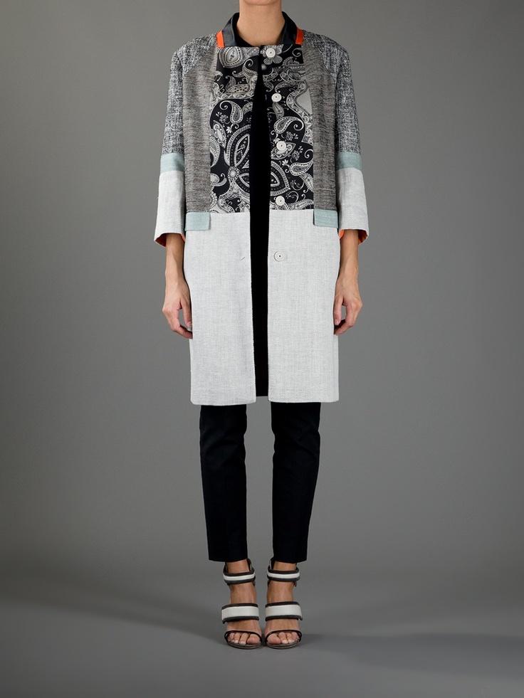 Etro patchwork jacket