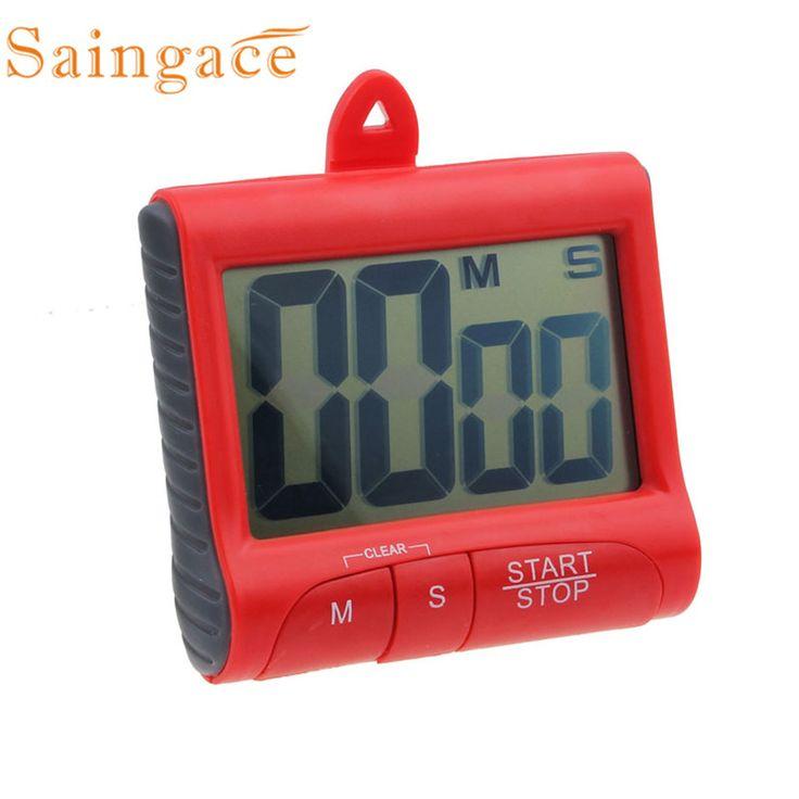 Magnet Digital Kitchen Count Down Counter Timer Beeping Alarm Clock minuteur de cuisine reloj de cocina timer da cucina !1