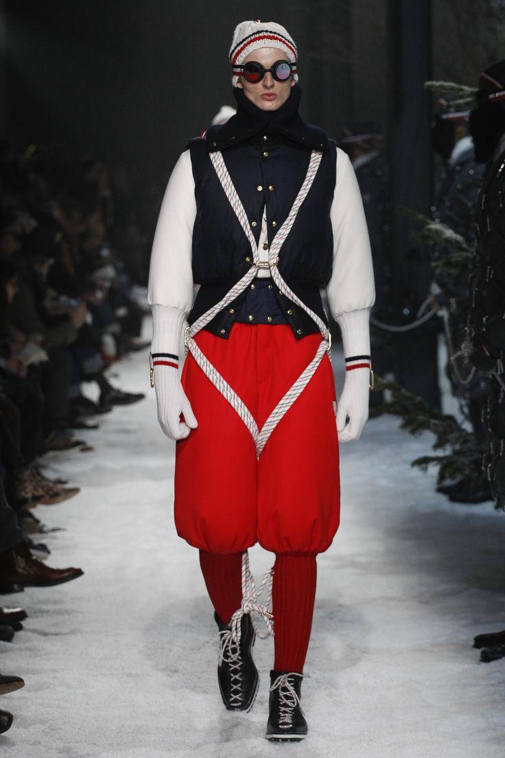 Moncler Gamme Bleu Fall 2017 Menswear Fashion Show