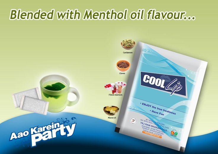 Feel the Freshness of Menthol Flavour with   #coollipmouthfreshner