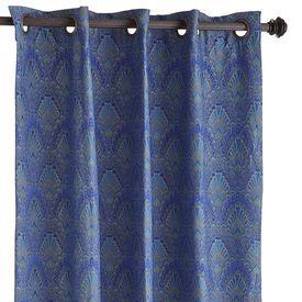 Peacock curtains