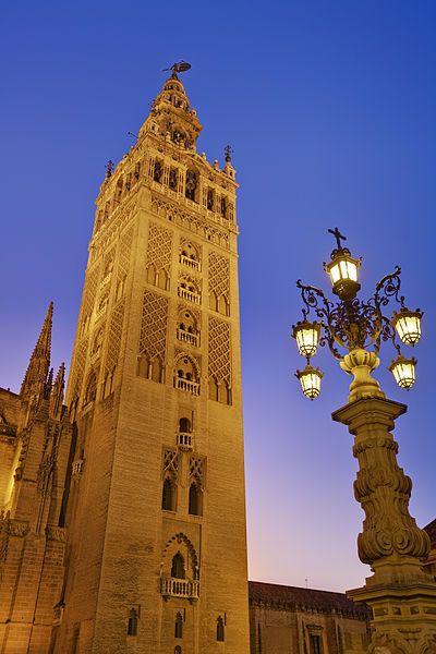 La Giralda Tower. I had better start training so I can climb all 34 floors!