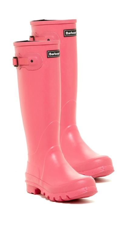 Yes Please ... Pink Rain Boots ❤  if only they would fit my calves︎
