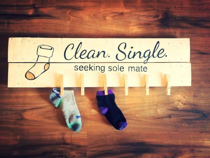 A personal favorite from my Etsy shop https://www.etsy.com/listing/277351758/clean-single-seeking-sole-mate-laundry