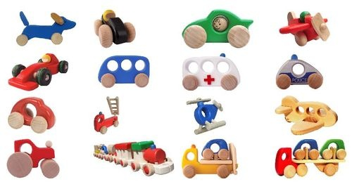 Bajo wooden toys - gorgeous! My boys have quite a few ;)