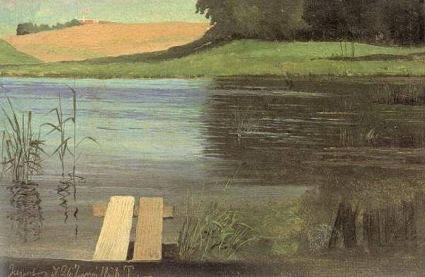 Painting by a distant relative, Johan Thomas Lundbye