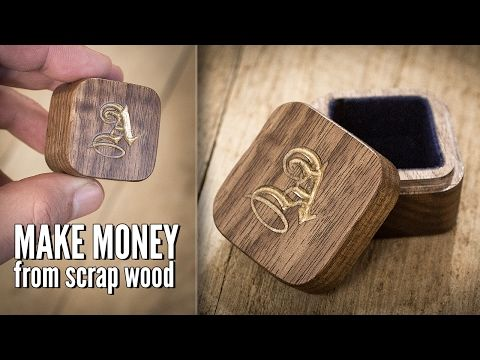 [sociallocker][/sociallocker] In this video I put a piece of scrap wood into my small CNC machine and make a $40 jewelry box with a custom engraved monogram on the lid. I sell these tiny … source