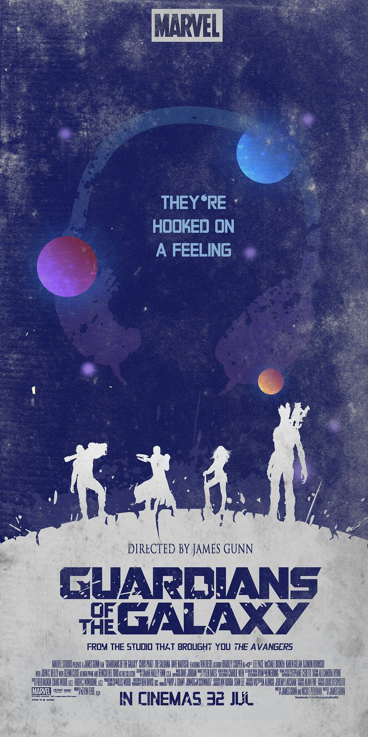 Guardians of the Galaxy Poster Created by ChipsEss0r