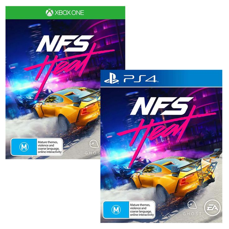 N4s nfs need for speed heat sony playstation 4 ps4 xbox