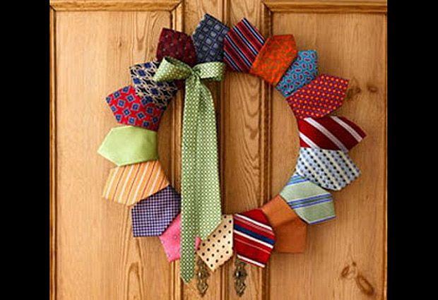 Qu hacer con las corbatas que se juntan en el caj n - Reciclar ropa manualidades ...