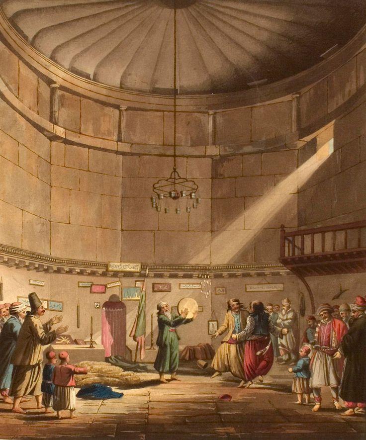 IXOYC - Османская империя на литографиях 18-19 века.