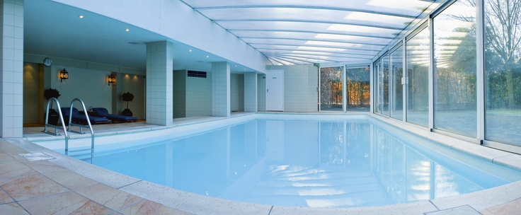 Swimming pool and sauna at Inntel Hotels Resort Zutphen