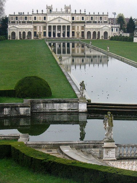 Villa Pisani, Stra, #Veneto, Italy