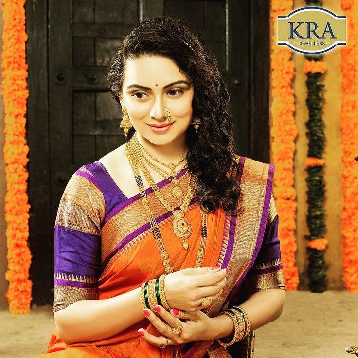 Shruti Marathe (@scobidobi) New association!   KRA Jewellers.   Krishna Rajaram Ashtekar Jewellers    #branding #gold #festive