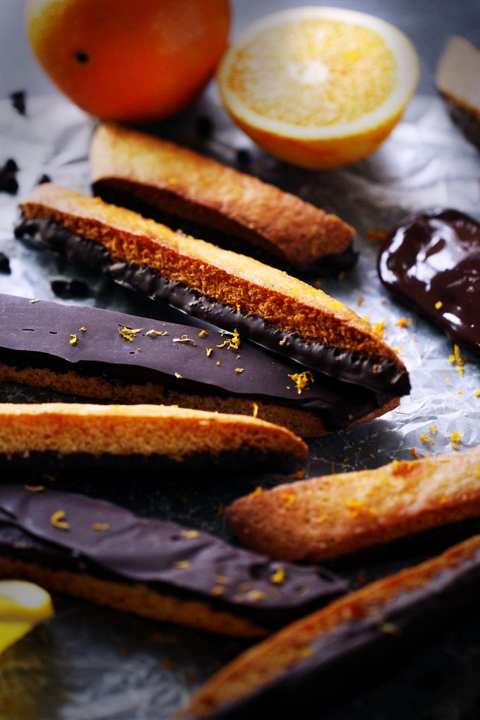 ... Biscotti on Pinterest | Chocolate orange, Chocolate chips and Almonds