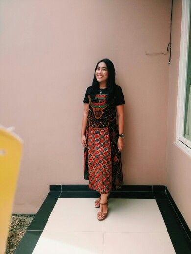 Batik dress #batik #dress