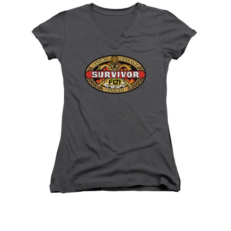 Survivor - Fiji Junior V-Neck T-Shirt