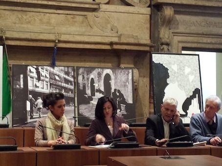 """conferenza stampa """"Evanescenze e silenzi d'amore"""" con Maela Piersanti e Federica Lo Russo #andreamattiello #mattiello #evanescenzeesillenzidamore #palazzospada #terni #art #arte #contemporanea #artist #artista #emergente"""
