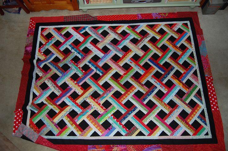 Easy Basket Weave Quilt Pattern : Best basket weaving images on crafts