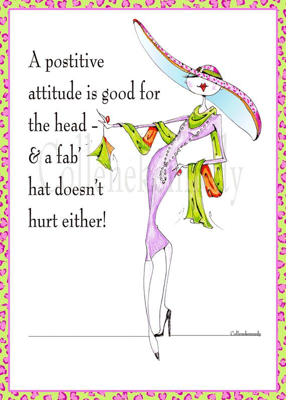 Woman humor art with uplifting quote 5x7 framed print