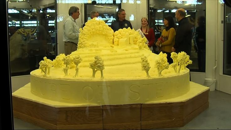 HARRISBURG, Pa. (AP) — Signaling the 2017 Pennsylvania Farm Show is about to open, the event's annual butter sculpture has been revealed.