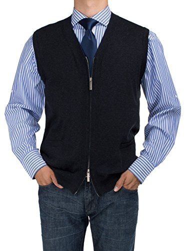 Bianco B Men's Full Zip Cotton Sweater Vest Relaxed Fit Sweater Vests Product Features Available Colors: Black, Charcoal, Light Gray, rOYAL bLUE Relaxed Fit Full Zip Sweater Vest, Premium Quality Zips From Top and Bottom, 2 front pockets, Year Round Use Relaxed Cut, Machine Wash, Imported For More Room, Purchase One Size Up Sweater Vests Product Description Introducing Bianco B Modern Full Zip Sweater Vest […] http://www.freesweaters.com/bianco-b-mens-full-zip-co..