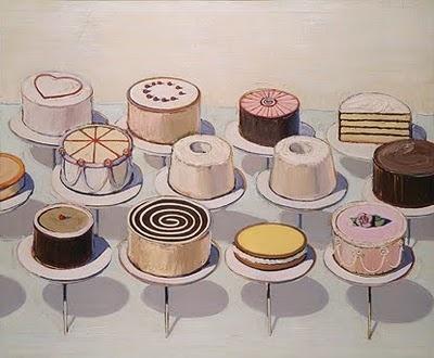 Cakes by Wayne Thiebaud: The National, Artists, Wayne Thiebaud, Art Room, Minis Cake, Waynethiebaud, 5Th Grade Art, Food Art, Thiebaud Cake