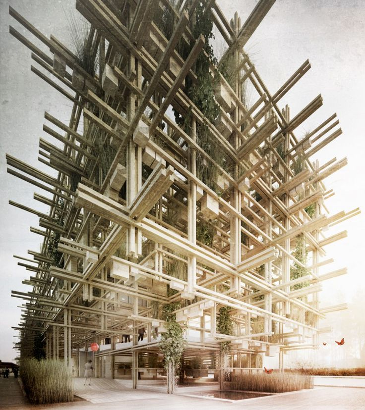 """""""Austria. Naturally Yours"""" Competition Entry / penda """"Austria. Naturally Yours"""" Competition Entry / penda – ArchDaily"""