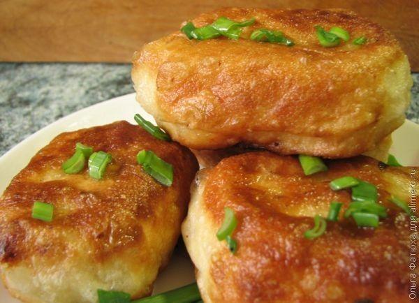 Постные жареные пирожки / Рецепты с фото