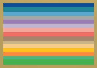 lentekleuren