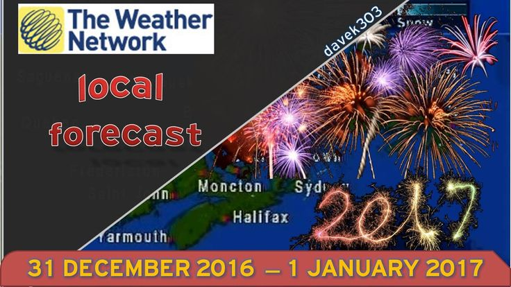 News Videos & more -  The Weather Network - End of 2016 & Start of 2017 #Music #Videos #News