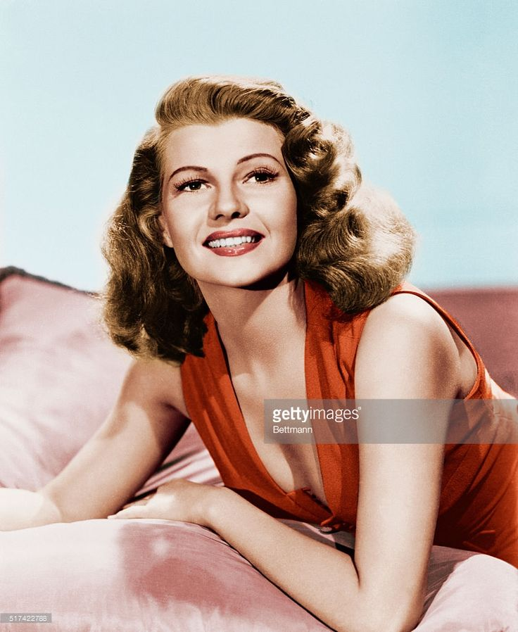 Actress Rita Hayworth