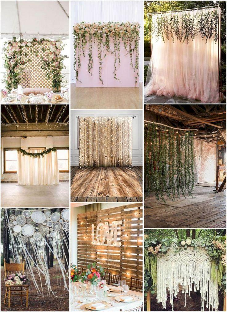 Adorable Top 15 Unique and Breathtaking Wedding Backdrop