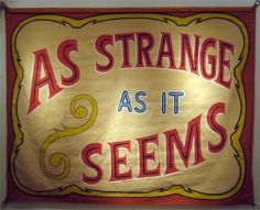 Vintage Side Show Banners - Artists - Carl Hammer Gallery