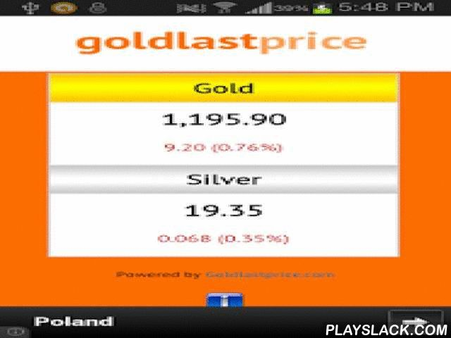 Gold Prices  Android App - playslack.com ,  Live up to date gold prices. Goldlastprice.com is a site fully devoted to bringing you the exact price for gold and silver per ounce. This also may be referred to as the 'spot price' for gold or silver. Our feed it dynamically updated every 15 minutes during US based trading hours. Wonen up to date goudprijs. Goldlastprice.com is een site volledig gewijd aan het brengen van u de exacte prijs voor goud en zilver per ounce. Dit kan ook worden…