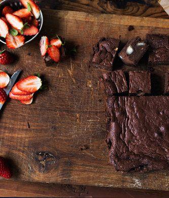 lchf dessert brownie opskrift