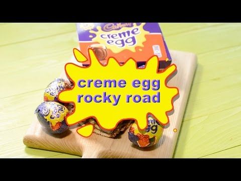 Creme Egg Rocky Road | Charlotte's Lively Kitchen