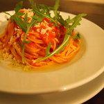 ニコラ - フレッシュトマトと西洋わさびのスパゲティー
