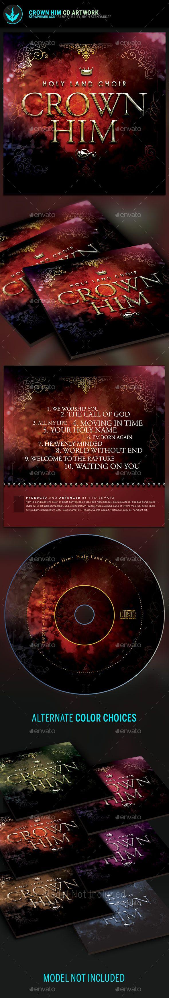 Royal CD Artwork Template