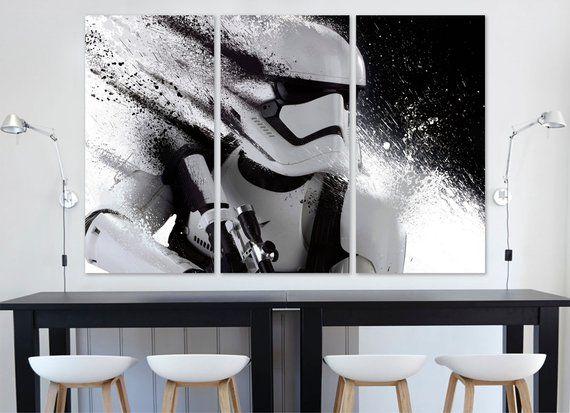 Star Wars Poster Star Wars Gifts Star Wars Wall Art Etsy Star Wars Wall Art Star Wars Painting Etsy Wall Art