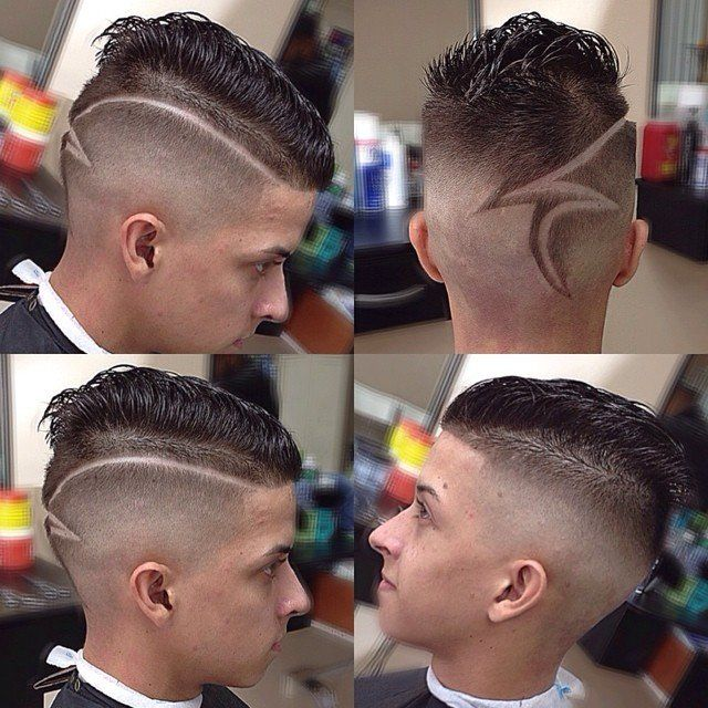 Men's Hair, Haircuts, Fade Haircuts, Short, Medium, Long